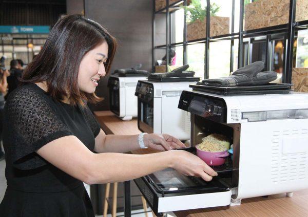 panasonic cubie oven cooking workshop home2com solution center recipe