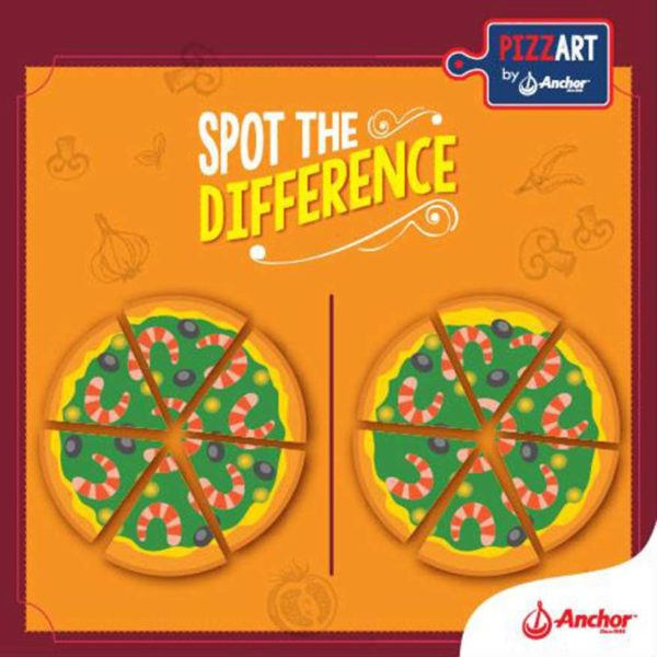 pizzart anchor food professionals fonterra dairy products fb contest