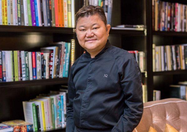 the library the ritz carlton kl chef justin quek franco asian cuisine