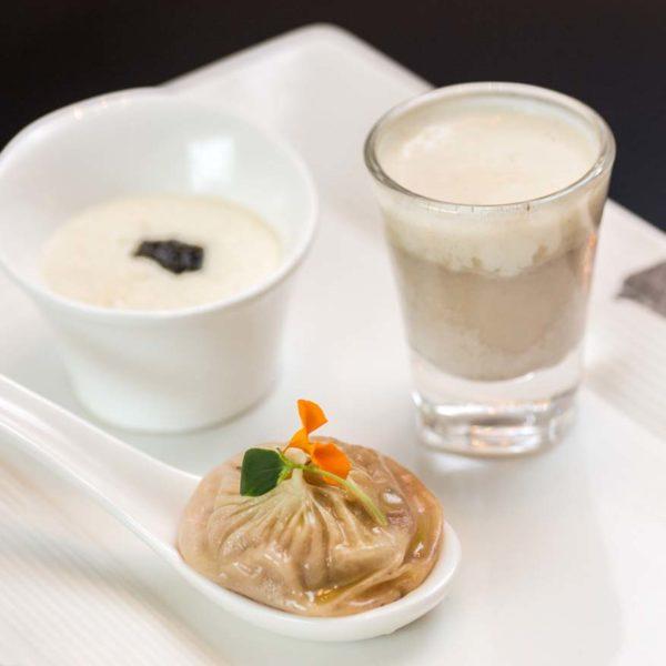 the library the ritz carlton kl chef justin quek franco asian cuisine starters