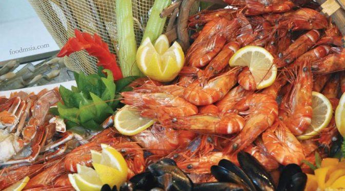 Treasures Of The Sea Weekend Buffet @ Nook, Aloft Kuala Lumpur Sentral