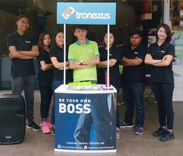 tronexus global sdn bhd be your own boss