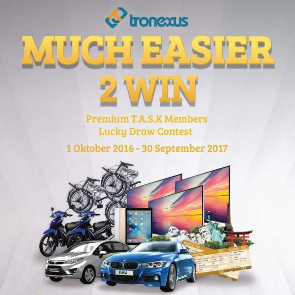 tronexus global sdn bhd more easier 2 win lucky draw