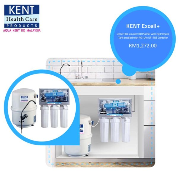 Healthier Cooking with Aqua KENT Excell Plus Water Filter