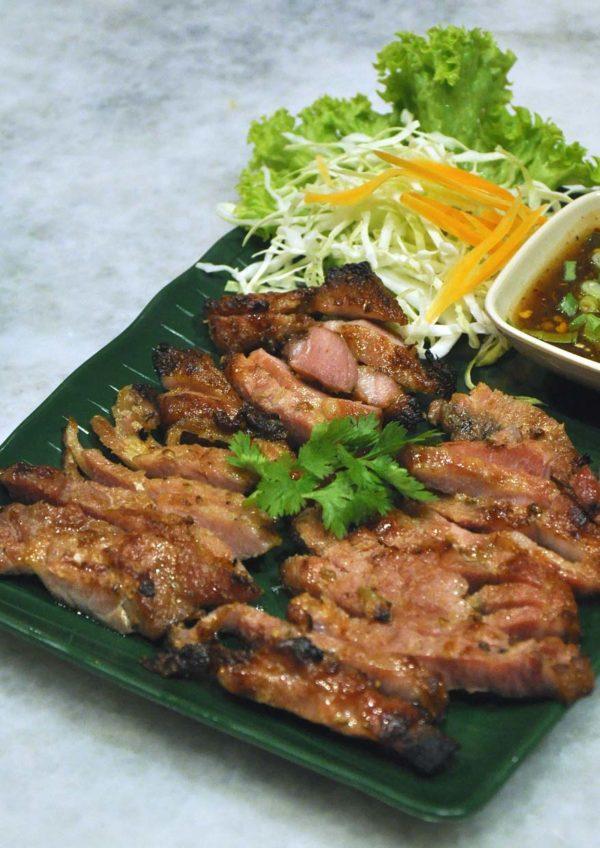 chiang mai mookata thai restaurant puchong grilled pork neck