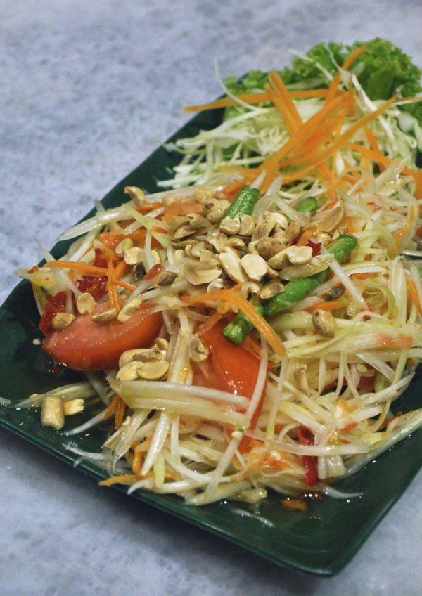 chiang mai mookata thai restaurant puchong papaya salad