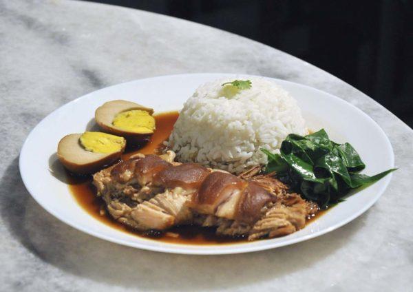 chiang mai mookata thai restaurant puchong stewed pork leg rice