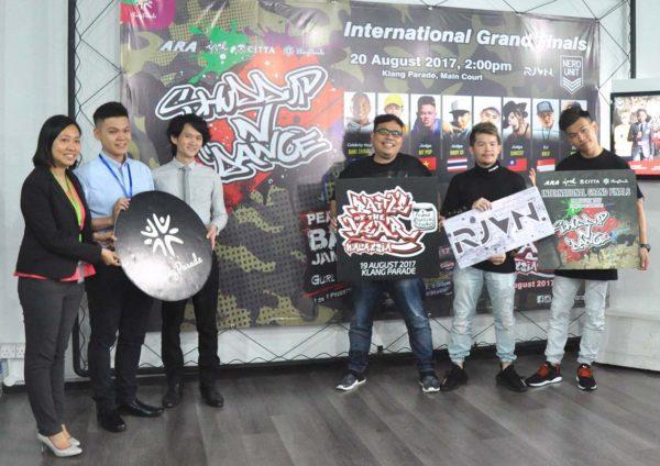 klang parade shuddup n dance international grand finals launching event