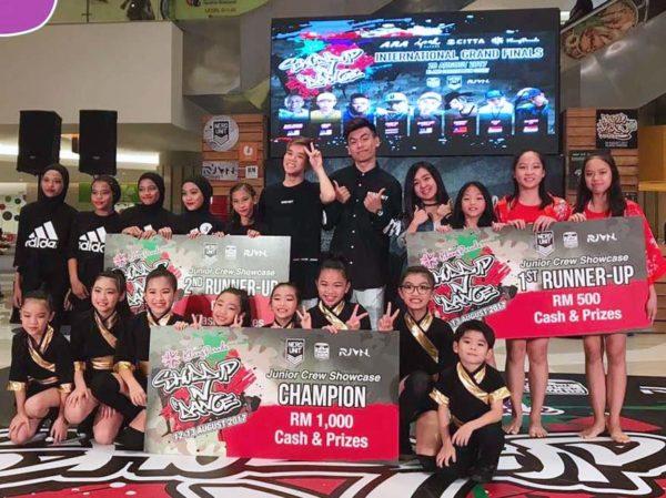 klang parade shuddup n dance junior showcase