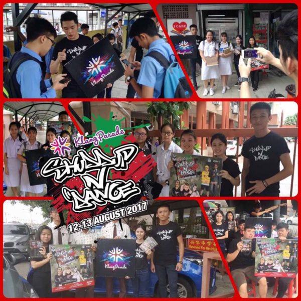klang parade shuddup n dance roadshow promo