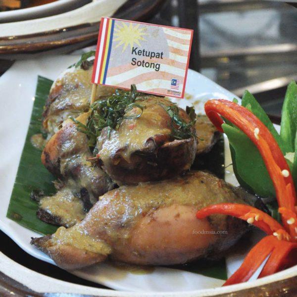 malaysia day hi-tea royale songket grand bluewave hotel shah alam ketupat sotong