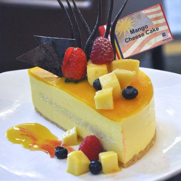 malaysia day hi-tea royale songket grand bluewave hotel shah alam mango cheese cake