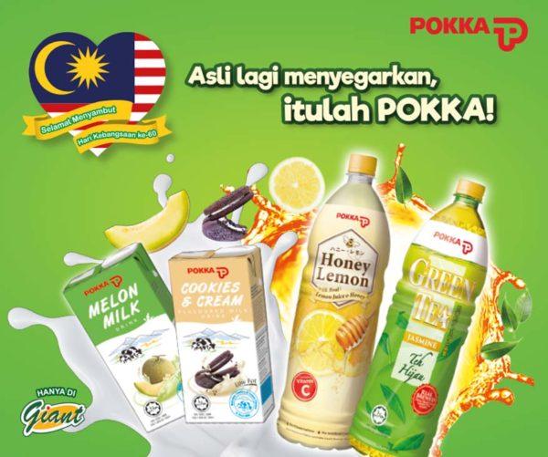 Merdeka Day Contest with POKKA Malaysia