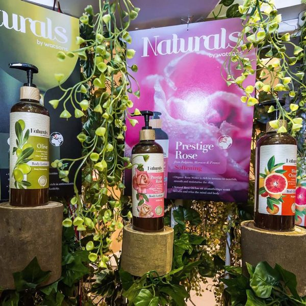 naturals by watsons hair and body care range prestige rose