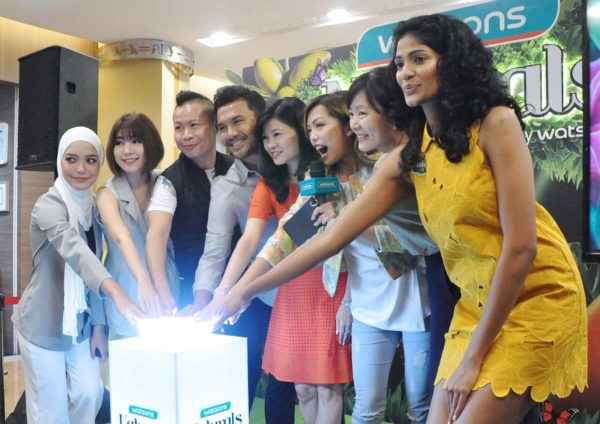 naturals by watsons hair and body care range relaunch ceremony