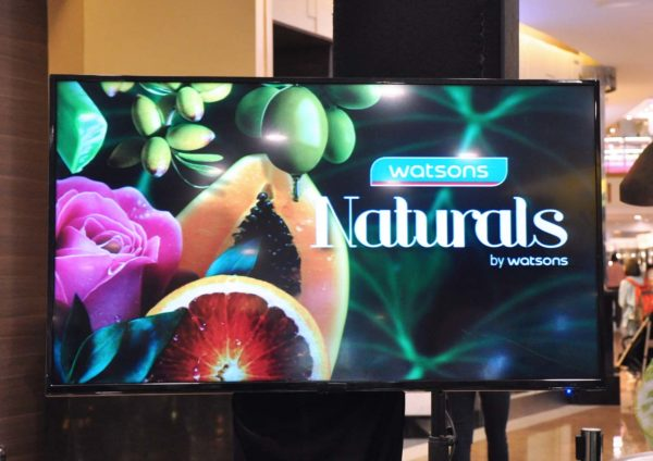 naturals by watsons hair and body care range relaunch event
