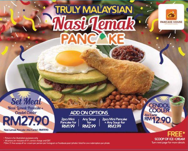 pancake house merdeka promo truly malaysian nasi lemak pancake