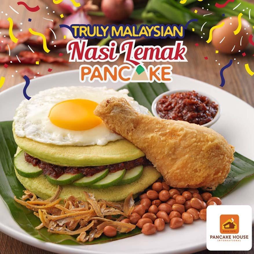 Truly Malaysian Nasi Lemak Pancake @ Pancake House Malaysia