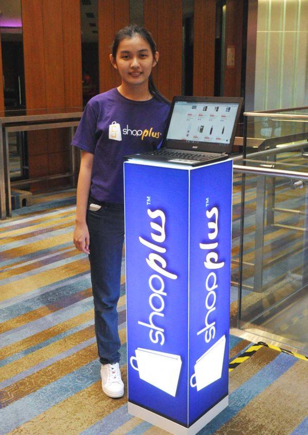 shopplus digital retail space online shopping demo