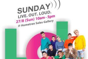 Sunday Live. Out. Loud @ Hometree Sales Gallery, Kota Kemuning