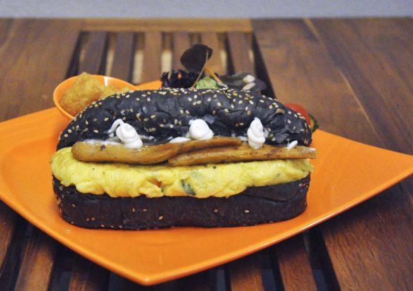 take eat easy gastrocafe sunway velocity kuala lumpur charcoal sesame otak otak