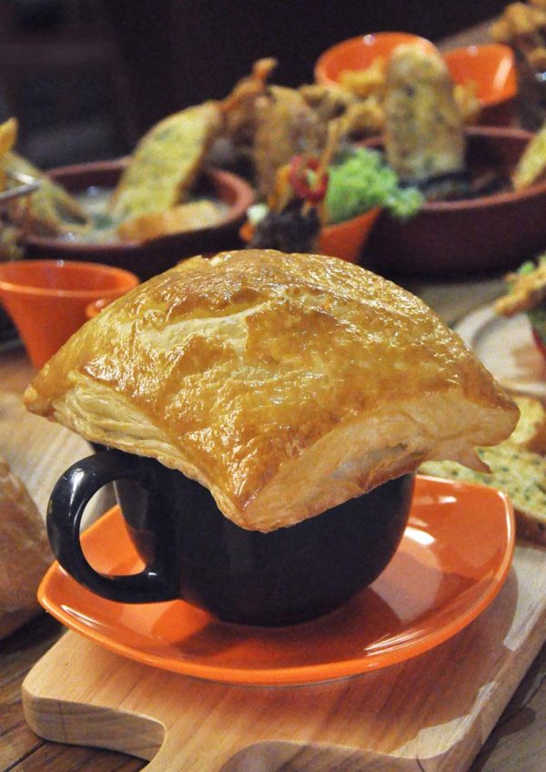 take eat easy gastrocafe sunway velocity kuala lumpur mushroom soup