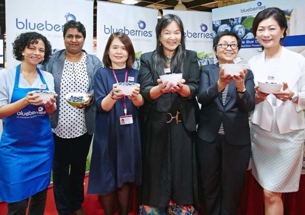 us highbush blueberries aeon one utama shopping center launch event