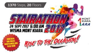 Challenging Stairathon 2017 @ 1 Mont' Kiara