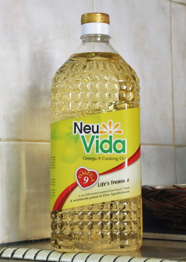 healthy low saturated fat neuVida omega-9 cooking oil 2kg bottle