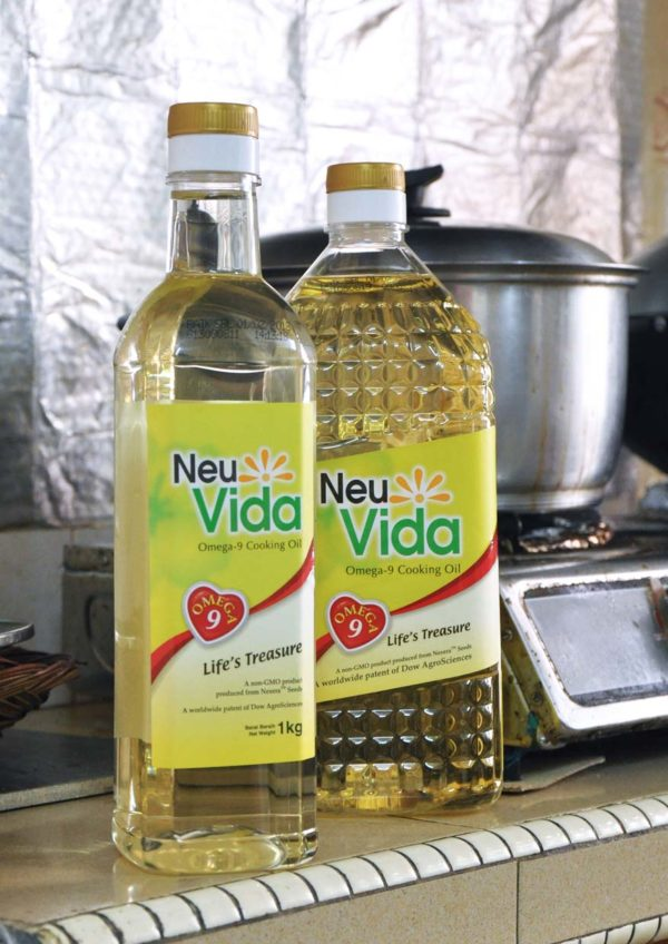 healthy low saturated fat neuVida omega-9 cooking oil