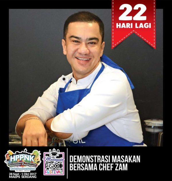 hppnk 2017 maeps serdang cooking demo chef zam