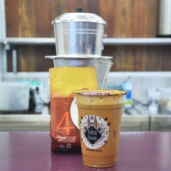 makan-makan trail citta mall ara damansara tealive vietnam coffee