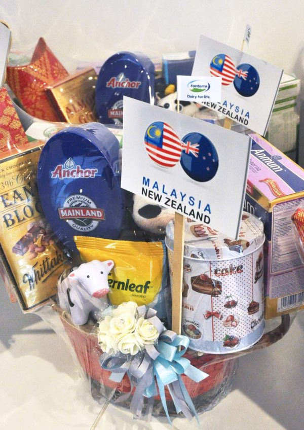 malaysia-new zealand 60 years friendship fonterra hamper