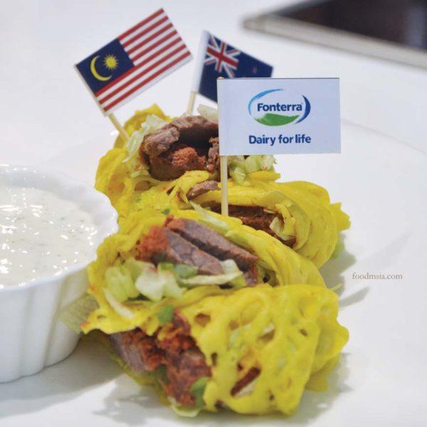 malaysia-new zealand 60 years friendship fonterra roti jala lamb tandoori