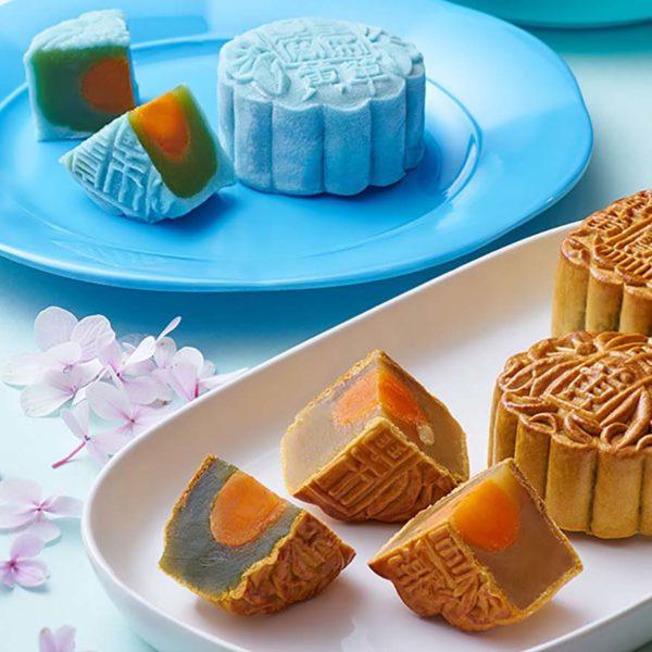 mooncake mid autumn festival dorsett grand subang blue crystal skin pandan lotus