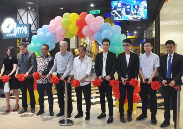 omaya pavilion kuala lumpur korean restaurant launching event