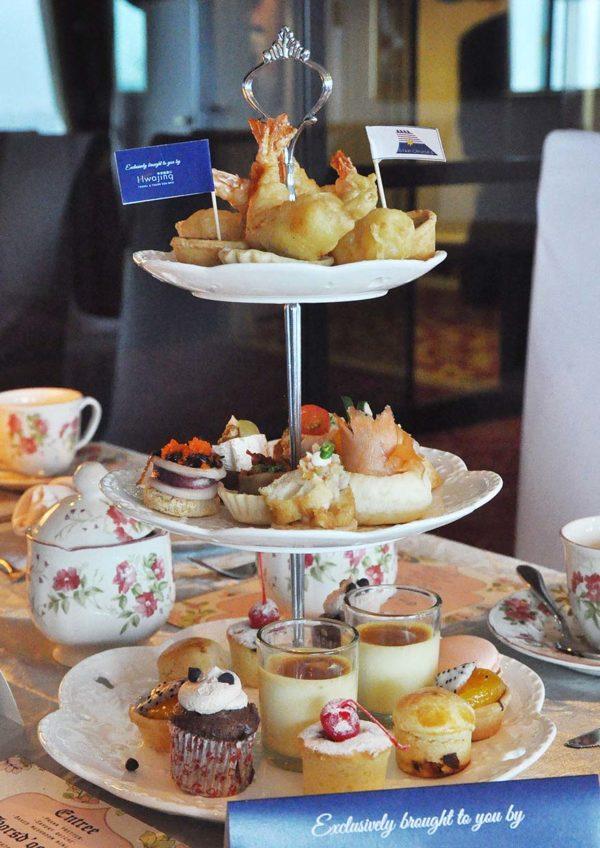 royal high tea superstar libra cruise food