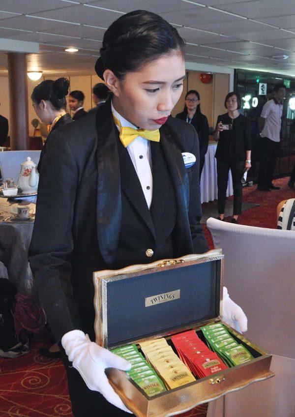 royal high tea superstar libra cruise twinings tea