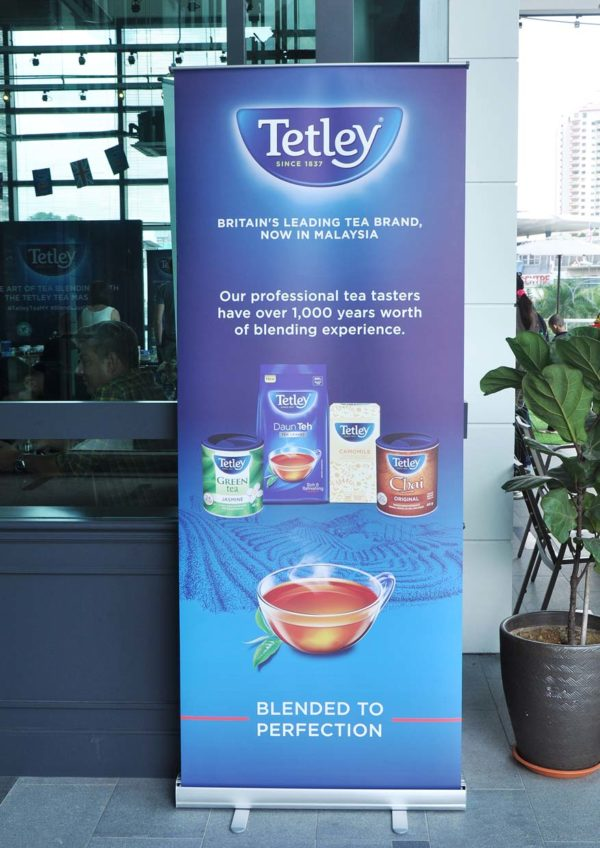 tetley britain tea brand tasting event