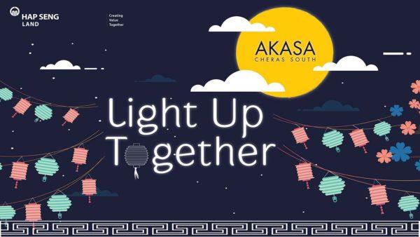 akasa cheras south hap seng land light up together
