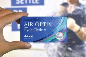 #NeverSettle for Blurry Vision with AIR OPTIX® plus HydraGlyde® Contact Lenses