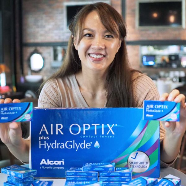 alcon air optix plus hydraglyde contact lenses germaine yeap