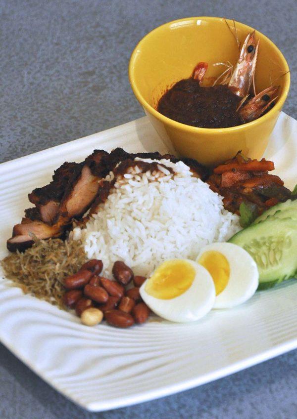 coffee house sunway putra hotel kuala lumpur rm25 set lunch nasi lemak