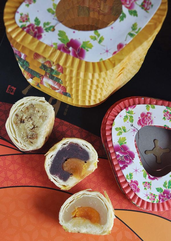 donutes coffee cake baking mid autumn festival taiwanese mooncake mung bean fried onion