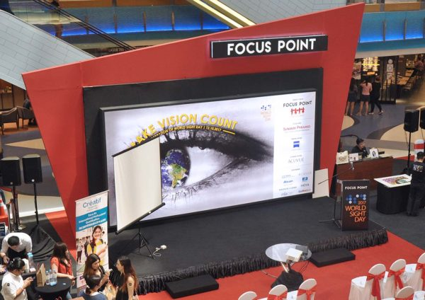 focus point world sight day make vision count