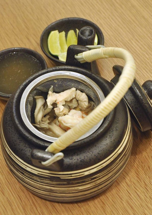 harumi 23 japanese restaurant plaza arkadia desa parkcity dobin mushi