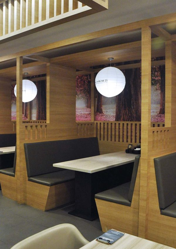 harumi 23 japanese restaurant plaza arkadia desa parkcity interior