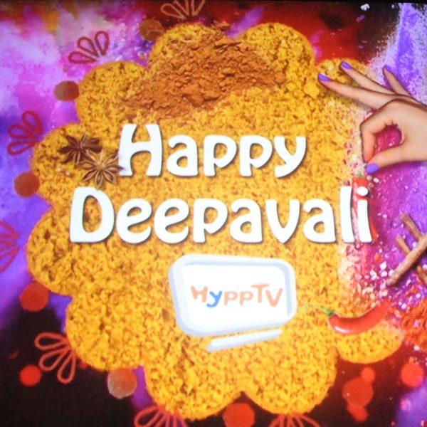 Joyful Deepavali Movie Screening @ HyppTV With Agathians Shelter