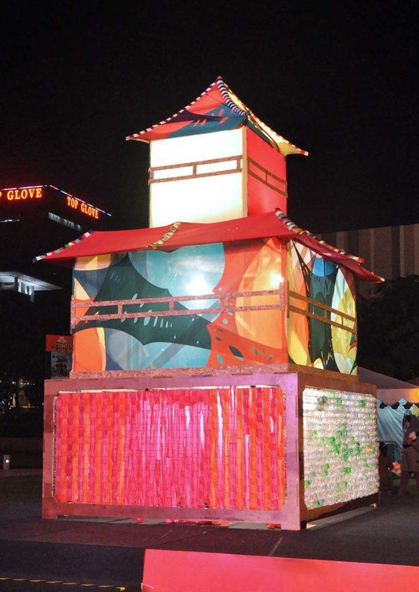 hypptv mid-autumn tanglung movie fest outdoor screening padang setia city mall biji-biji initiative