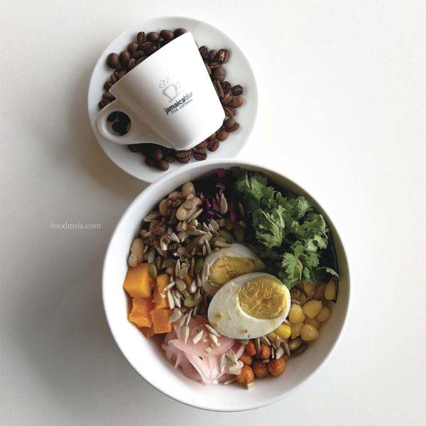 makanlicious food hunt melawati mall kuala lumpur jamaica blue super fruit bowl